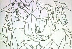 Studi Pose: Monumen (Dito Yuwono)