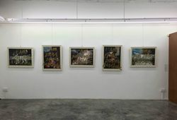 """""""I Am Just Doing Aesthetic"""" Installation View #4"""