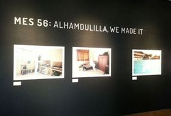 Alhamdullilah, We Made It (Installation View #1)
