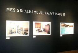 Alhamdullilah, We Made It (Installation View #1)
