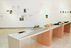 """The Life And The Chaos: Objects, Images And Words"" installation view #1"
