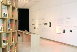 """The Life And The Chaos: Objects, Images And Words"" installation view #5"