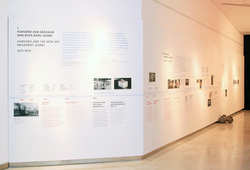 """The Life And The Chaos: Objects, Images And Words"" installation view #6"