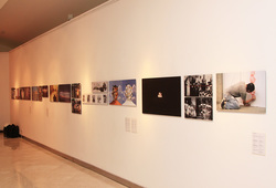 """The Life And The Chaos: Objects, Images And Words"" installation view #9"