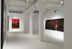 """Masquerade of Life"" Installation View #5"