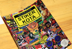 Stiker Kota (Detail)
