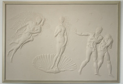 Michaelangelo Greets Botticelli