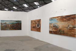 Iswadi Basri Installation View