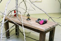 """""""Maizoukyou"""" Installation View #6"""