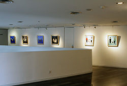 """Opposite Attract"" Installation View #2"