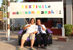 Festival Masakan Mama - Pojok foto 2