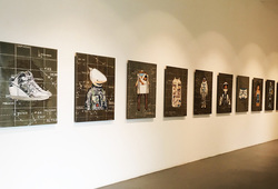 Multiple Junctures Installation View #2