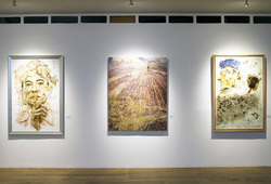 """Redraw II: Discovery"" Installation View #3"