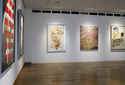 """Redraw II: Discovery"" Installation View #5"