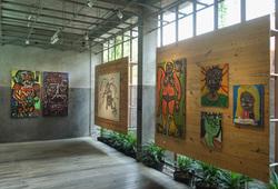 "Exhibition view ""Journey"""