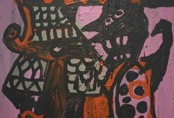 Warior in art