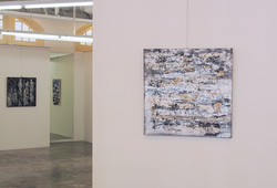 """Invisible Painting"" Installation View #3"