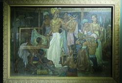 Penari - Penari Bali sedang Berhias