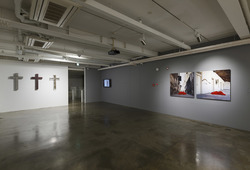 """The Man who Fell into Art: Collecting as A form of Personal Narrative"" Installation View #4"