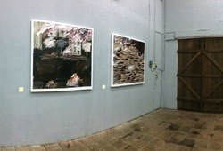 """Exhibition view #2 """"When I think about the death of painting, I play"""""""