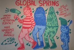 Global Spring Mural