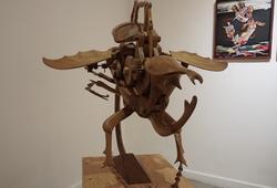 Mechanical Horn Sentar Beetle (Detail)
