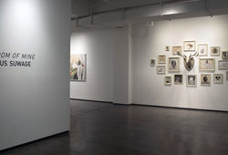 """ROOM OF MINE"" INSTALLATION VIEW #1"
