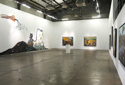 """Natural Born Worker"" Installation View #1"