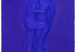 Art History: Blue on Blue #3