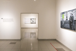 """Between The Lines"" Installation View"