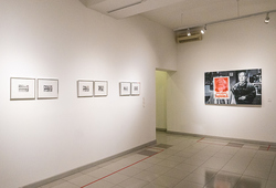 """""""Between The Lines"""" Installation View"""