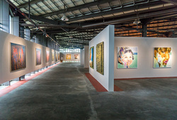 """INTENTION"" INSTALLATION VIEW"