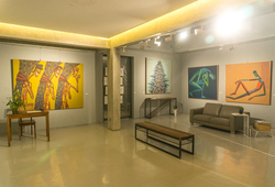 """Ganja"" Installation View"