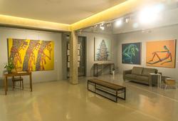 """Ganja"" Installation View"