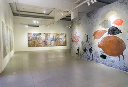 """Wimba Kala"" Installation View 1"