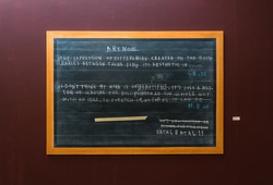Blackboard Painting, Footnote #2