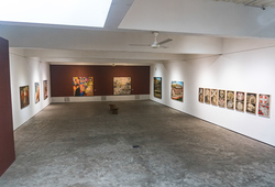 """The Gift"" Installation View"