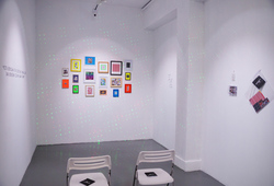 """Carte Blanche: Anxiety"" Installation View"