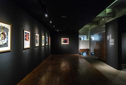 """Perjalanan Seni Grafis T.Sutanto 1975-1993"" Installation View"