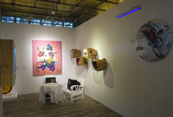 Faux Utopia Exhibition view 1