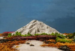Gunung Merapi dan Kali Opak