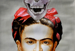 Dearest Frida with Adorable Skull