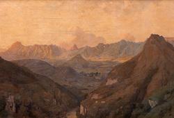 Senja di Daratan Mahat