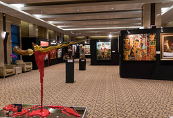 """Menjadi Indonesia"" Installation View"