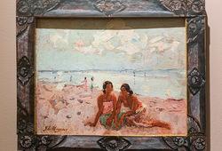 Two Women at Sanur Beach