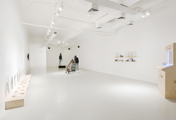 """in suspense"" Installation View #1"