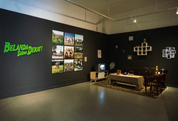 """Resipro(vo)kasi"" Installation View"