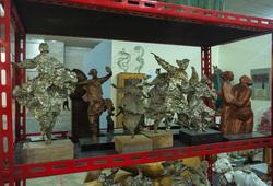 """""""Dolorosa Sinaga at Jakarta Biennale 2017: Jiwa"""" Installation View #2"""