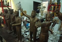 """""""Dolorosa Sinaga at Jakarta Biennale 2017: Jiwa"""" Installation View #3"""