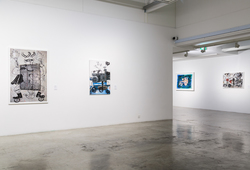 """Allegories & Identities"" Installation View #10"